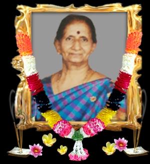 திருமதி இந்திராணி சச்சிதானந்தம்